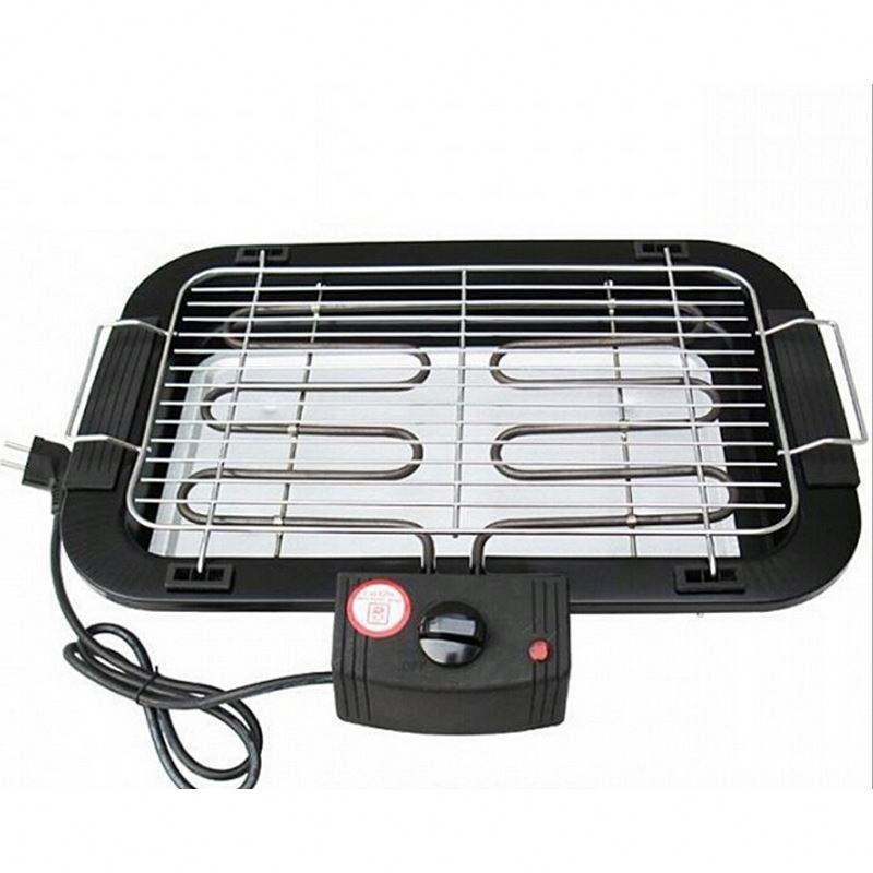 Zogift 2000 w sans fumée maison de table intérieur électrique barbecue grill