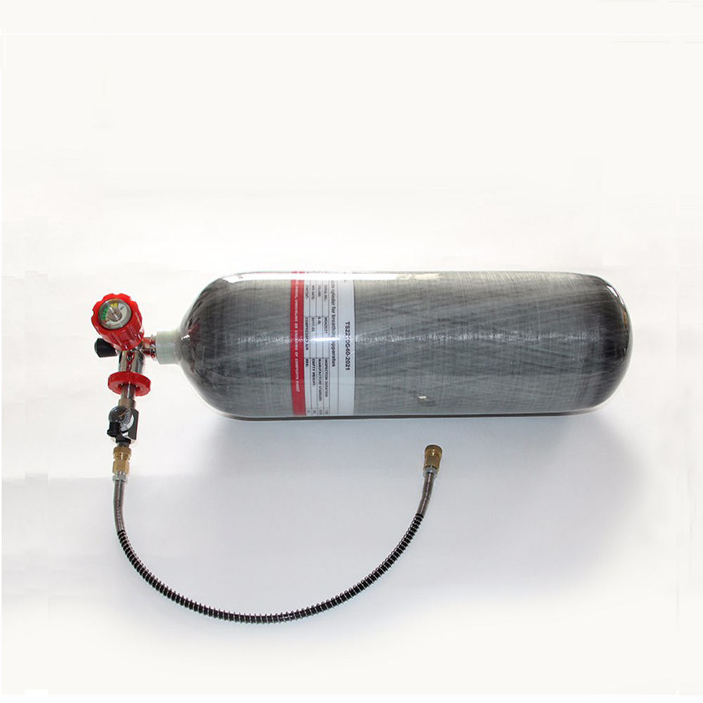 New product paintball tank CE 4500psi 6.8L carbon fiber cylinder for pcp airgun