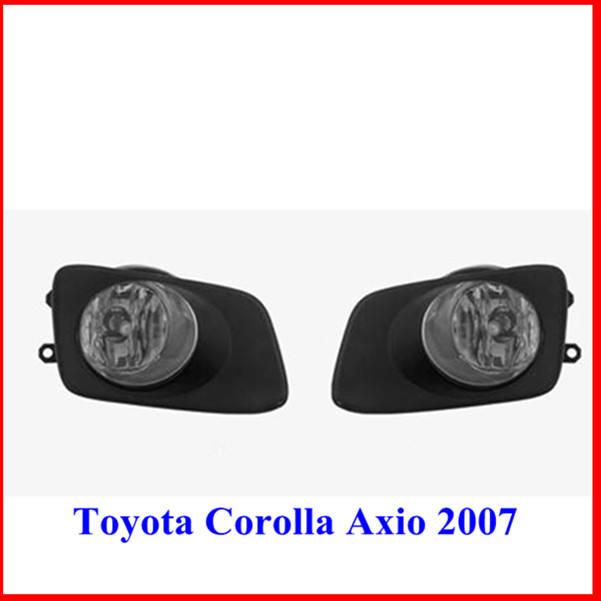 La calidad original de la niebla de la lámpara para toyota corolla/axio/2007 fielder