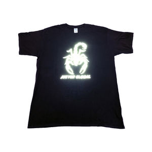 New Style Fashion Custom Printing Reflective Cotton Men Tshirt