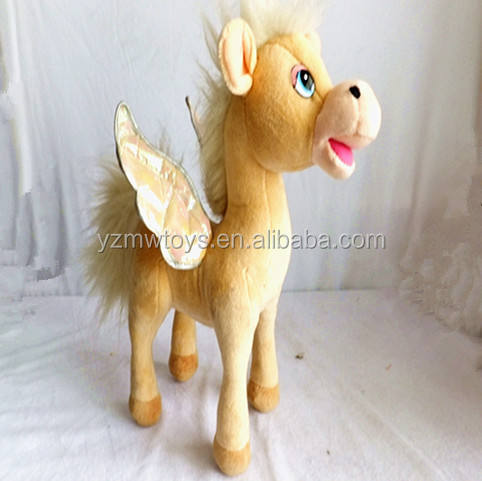 Horse [ Horse Toy ] Horse Little Toy Custom Plush Angel Horse Toy With Wings