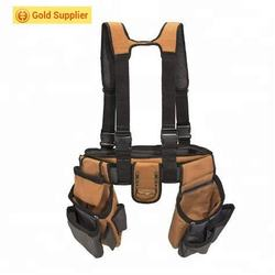 Durable canvas Work Gear Tool Belt Suspenders woodworking tool for men and women