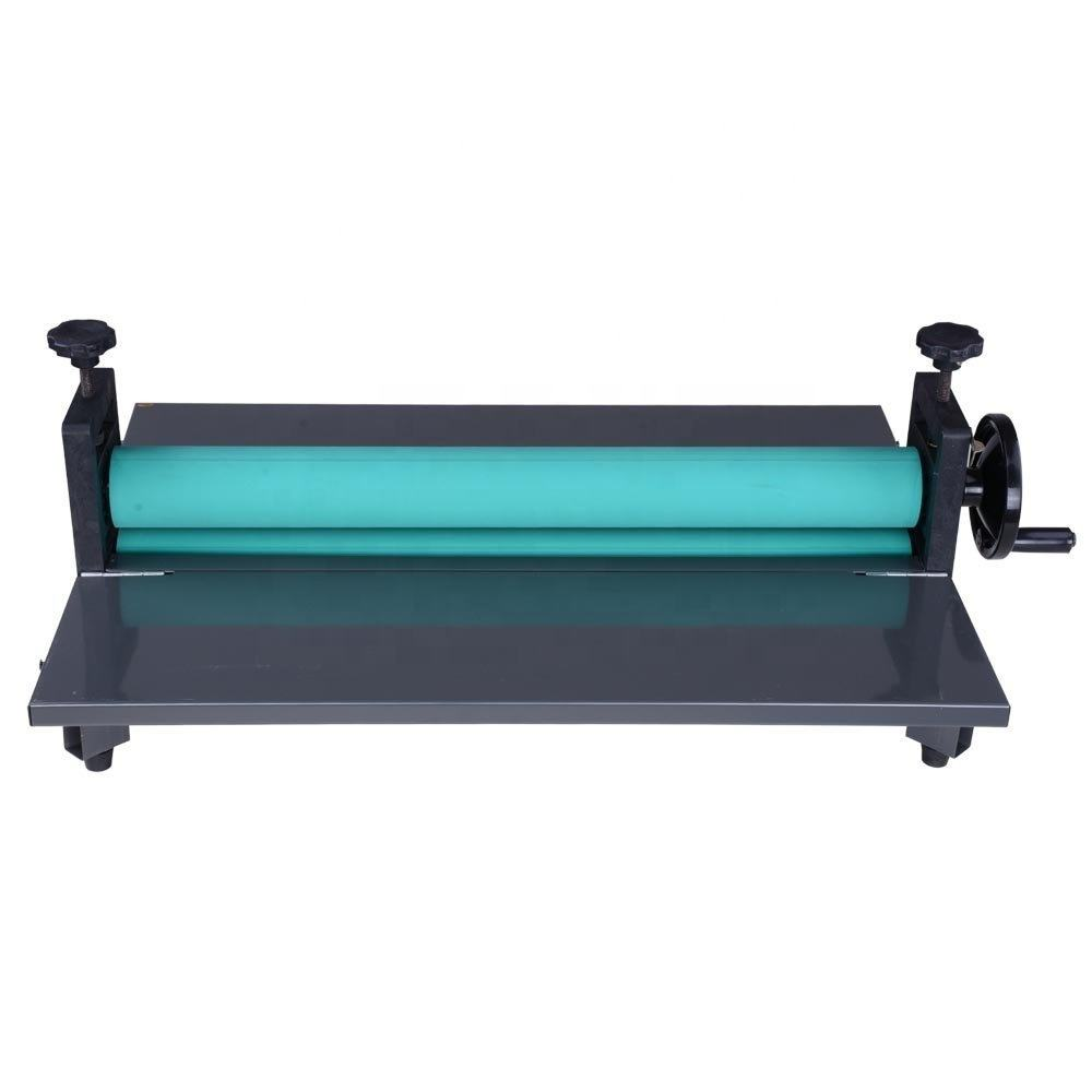 LBS650 manual Adjustable Roller Position cold laminating film laminator machine