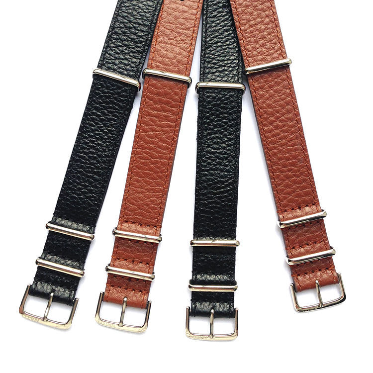 Chất Lượng cao Alligator Da Watchband Leather Watch Dây Đeo