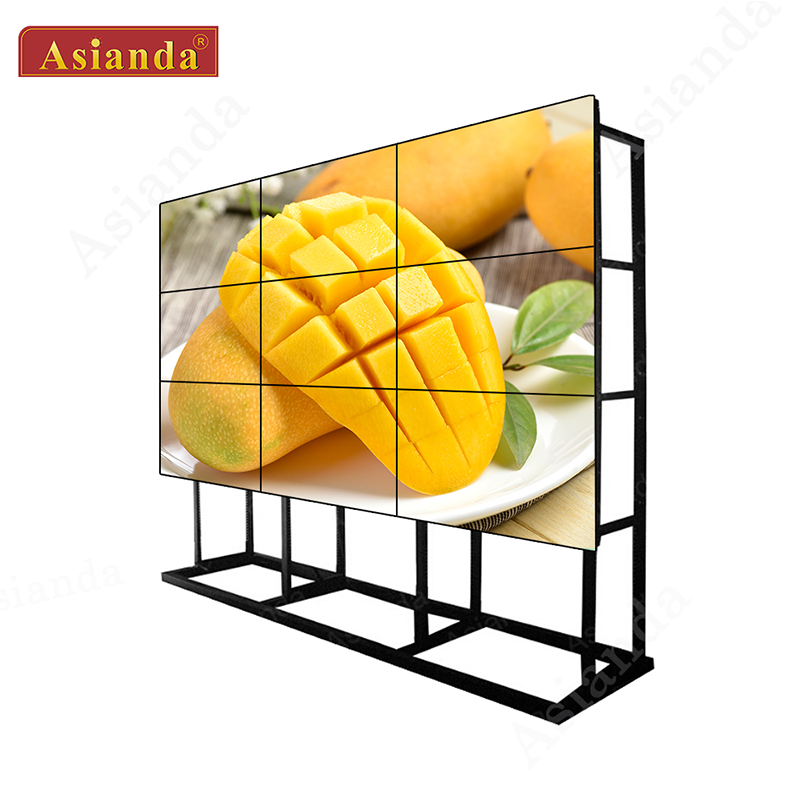 4x4 video wall controller advertising xxx flexible video wall for lg