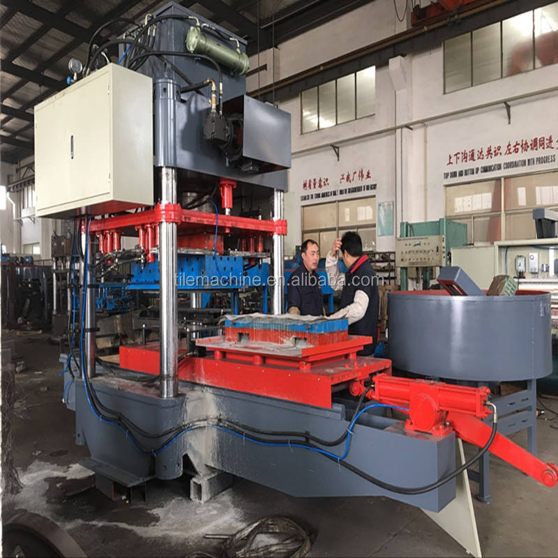 KB125 hydraulic concrete curb stone machine