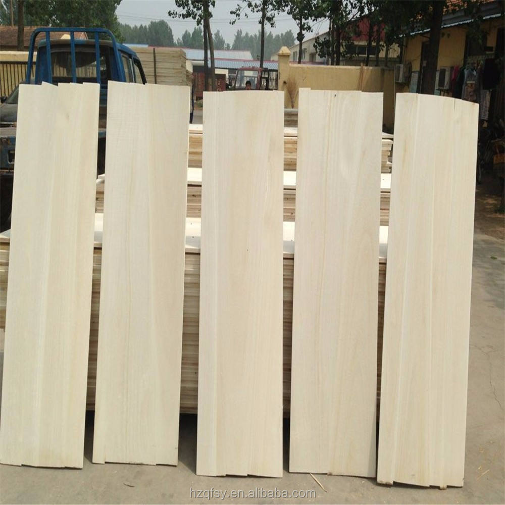 Natural paulownia tree wood board offered directly by China factory