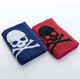 China supplier 100% cotton skull skeleton jacquard terry sports towel, gym towel