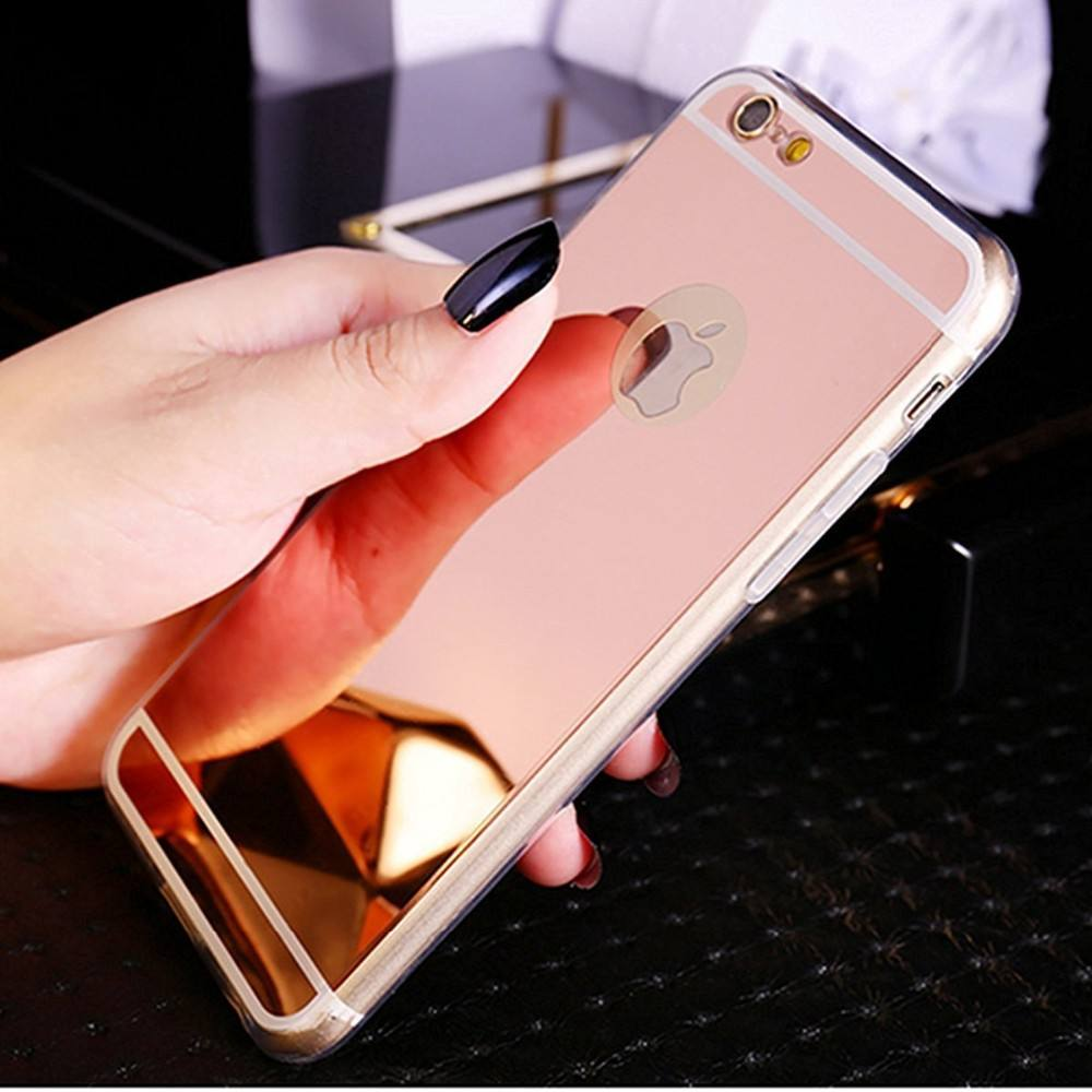 soft TPU mirror back cover case for iphone 6 bulk buy from China