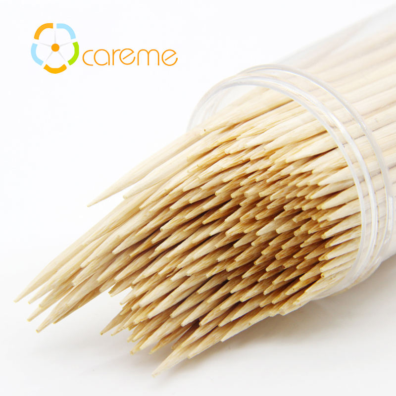 Eco-Friendly Interdental Brush Bamboo Toothpicks, Wholesale Wooden Mint Tooth pick For Restaurant