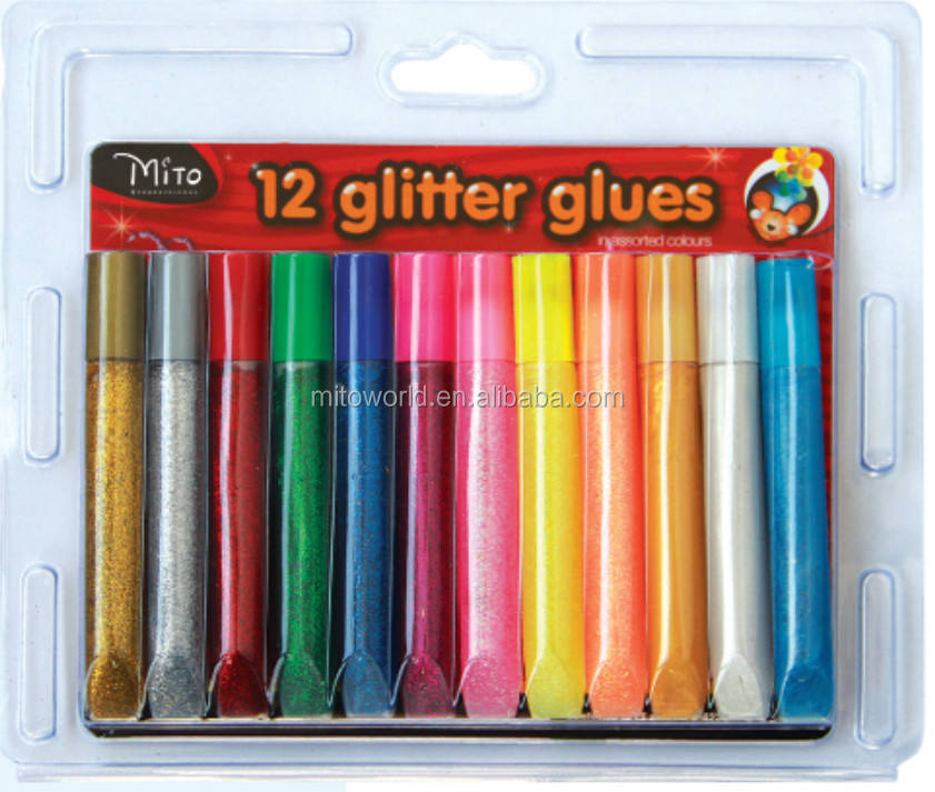 Washable glitter glue for children painting