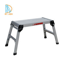 working platform in aluminum