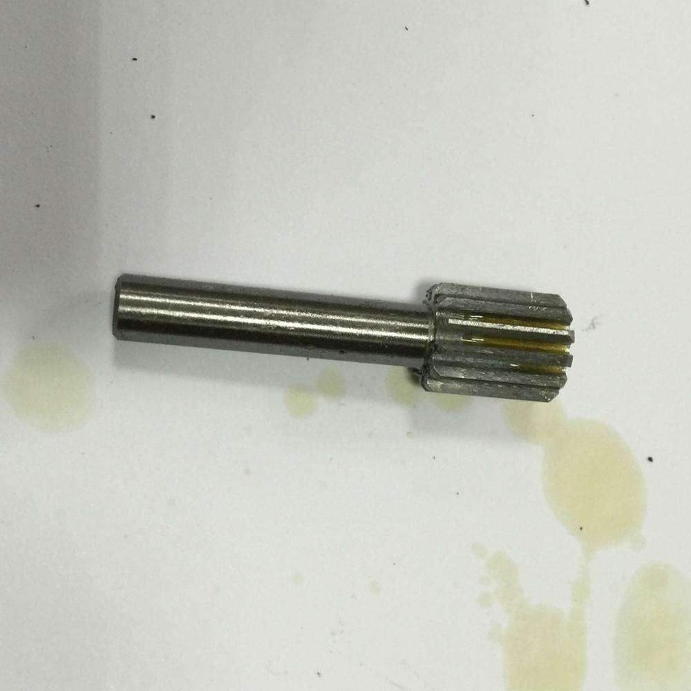 HY00064 small CNC machining spline shaft gear coupling