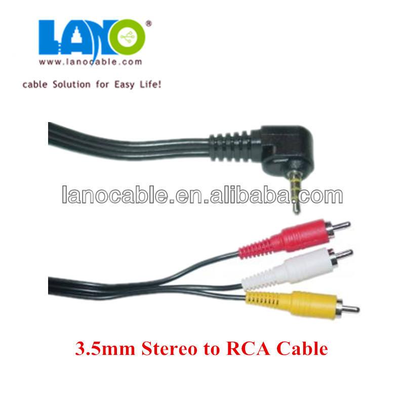 Nueva llegada 3.5mm 1 estéreo a 3 divisor de audio por <span class=keywords><strong>cable</strong></span> <span class=keywords><strong>auxiliar</strong></span>