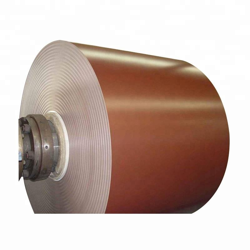 High quality color coated aluminum gutter coil