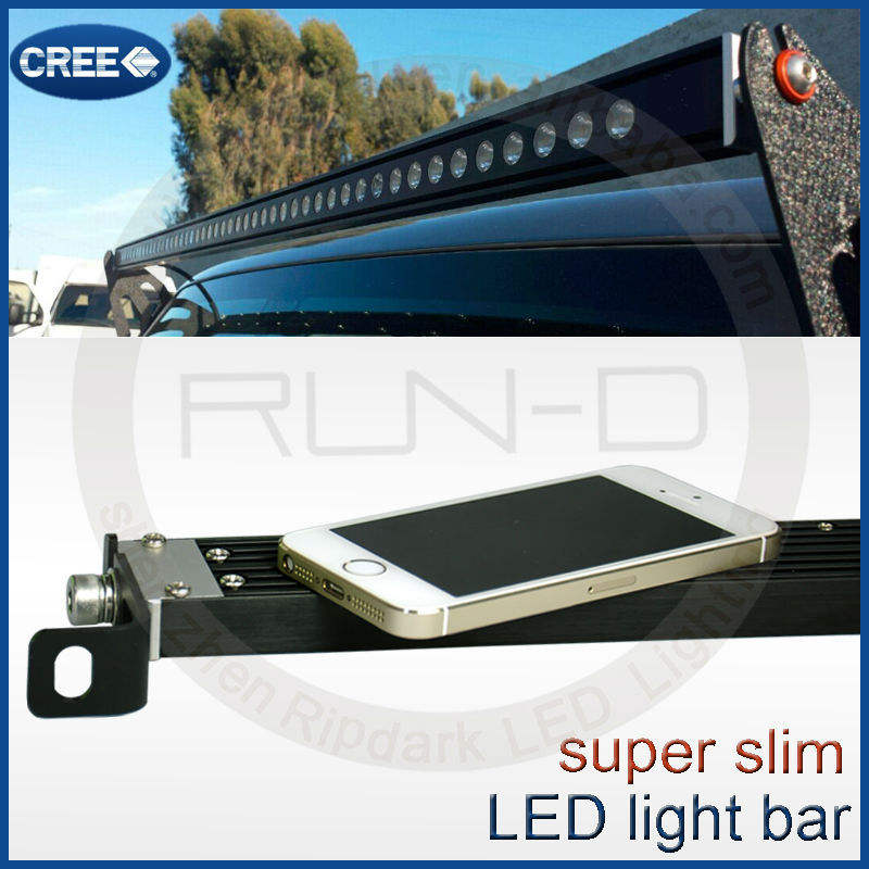 Boa venda ultra fina 30 polegada LEVOU barra de luz para jeep 4x4 atv, Cree 30 polegada LED light bar single row