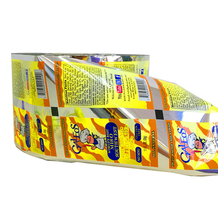 customized food packing plastic roll film cheap price in Guangzhou manufacture