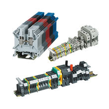 uk 2.5b Screw Power Electric Din Rail Terminal Block