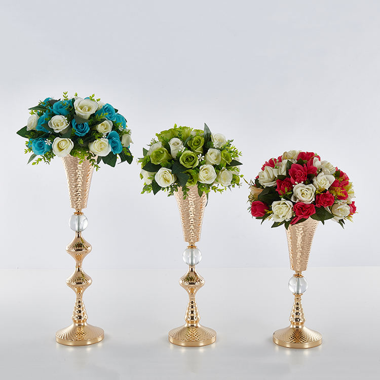 new 2019 big trumpet vase wedding table decoration