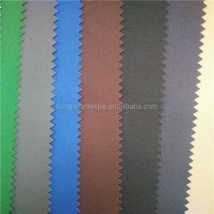 PU coated 100 polyester 300d oxford waterproof fabric for bags