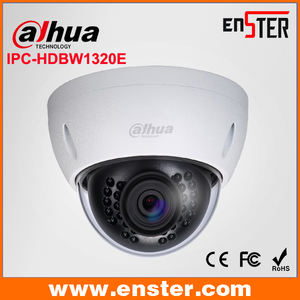 3MP Mini-Dôme Réseau Caméra IP67 IR Cctv Étanche Caméra Prix Liste Dahua Cctv IPC-HDBW1320E