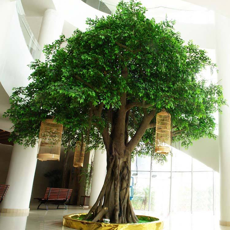 Latest design Large outdoor artificial trees big cheap artificial oak tree for garden decoration