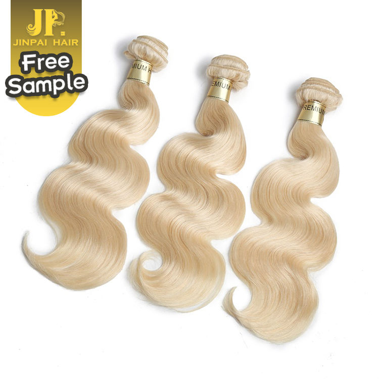 JP Hair Pure One Donor Top Quality Cambodian 613 Blonde Hair Weave