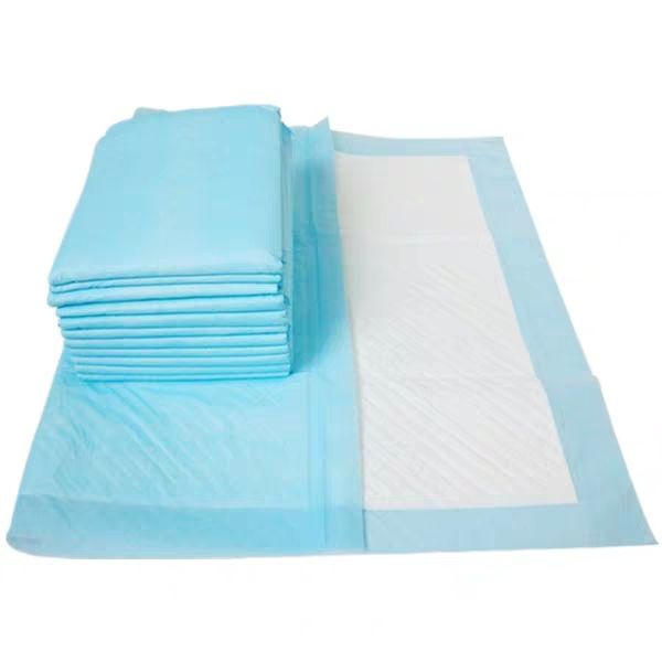 Disposable bed pad / medical underpad / disposable absorbent dignity sheet