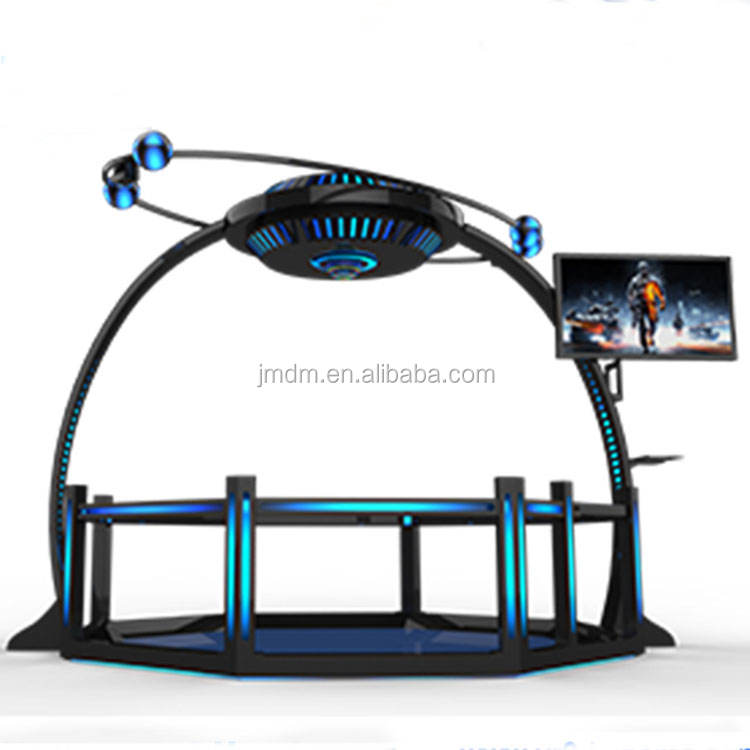Hot sale interactive game machine arcade simulator game device 9d vr game machine