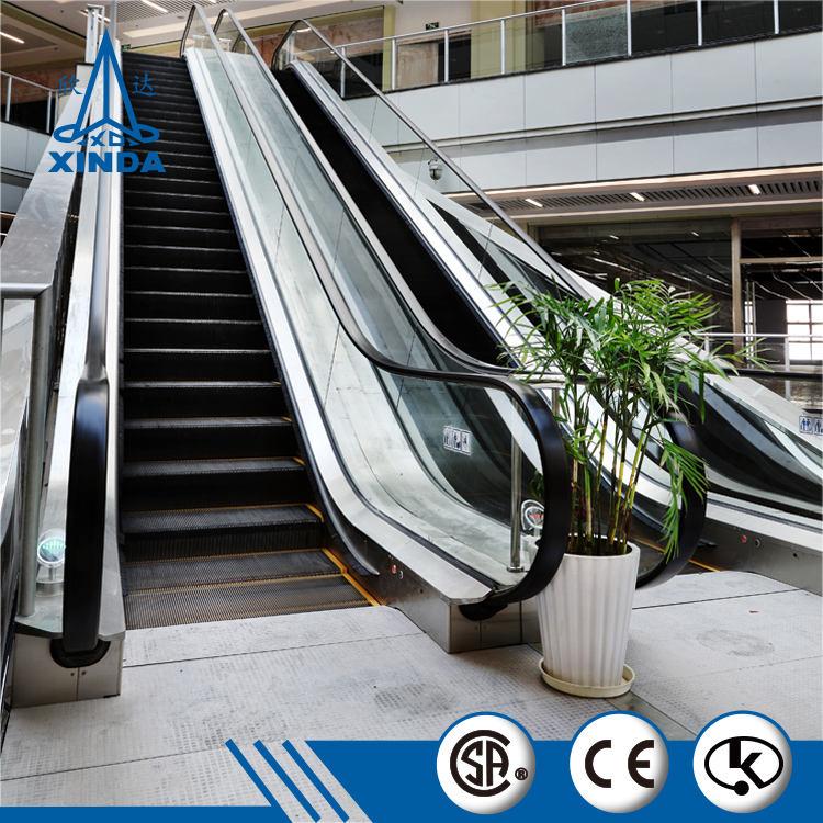 Электрический эскалатор VVVF низкая цена общественно-жилой поручня эскалатора