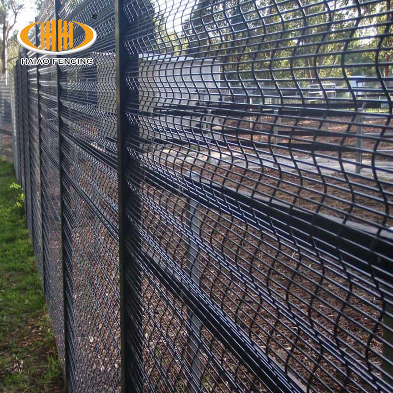 Advanced perimeter systems 358 series mesh fence efficient deterrence 358 anti cut security fence/colour coated 358 anti climb h