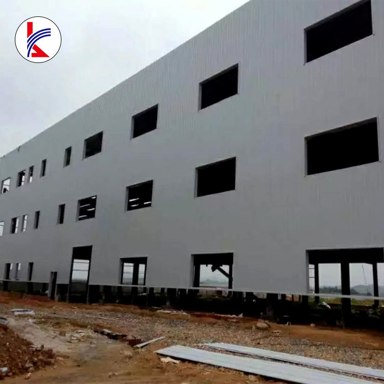 Africa prefabricated lightweight steel structure gym steel frame building with two-storey