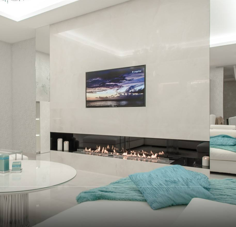 Inno living 2M remote /wifi control bioethanol fireplace