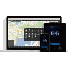 Meitrack gps vehicle tracking server software with Accout Control Management
