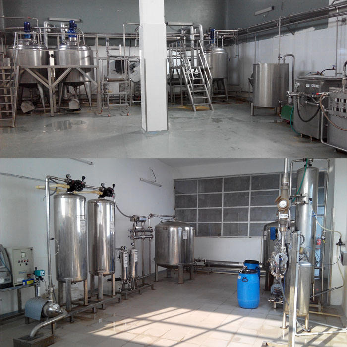 Equipments used in dairy industry