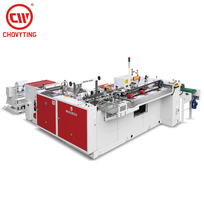 CW-500ZD automatic bottom seal soft loop handle bag/carry bag/shopping bag making machine