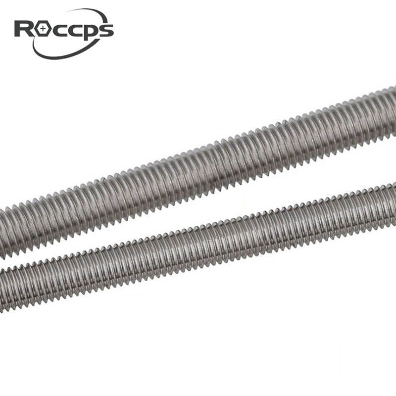 5x Threaded rod length 1 meter DIN 976-1A Steel Plain 10.9 1 meter M10