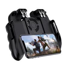 Mobile Gamepad Cellphone Joypad with Cooling Fan Trigger Joystick & Game Controller