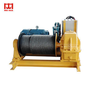 High Capacity Hydraulic 10000 lb winch Cranes 12000lb electric winch For Sale