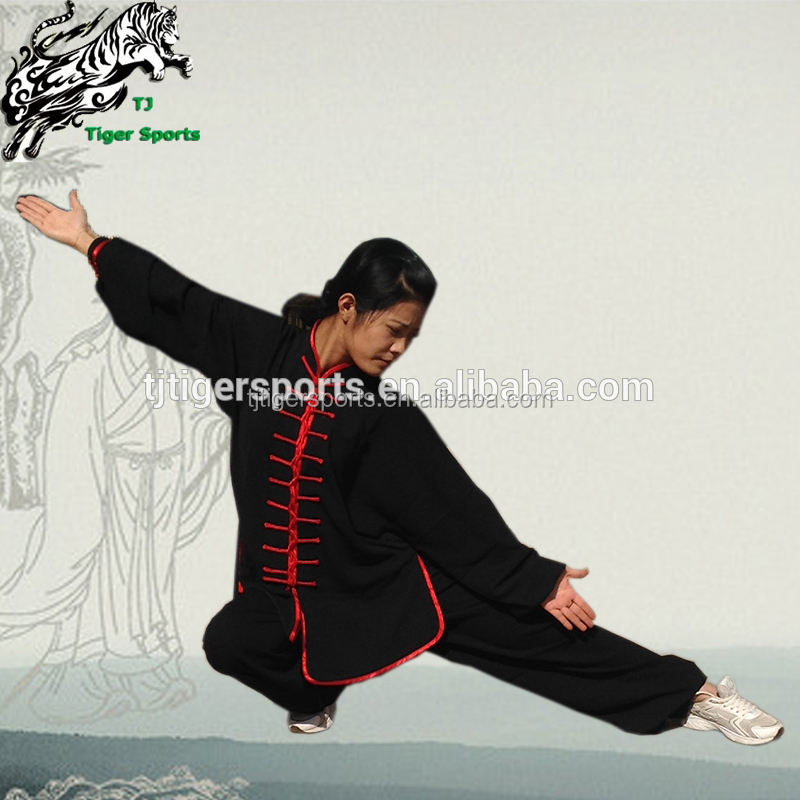 Vêtements traditionnels chinois, uniformes wu shu tai chi, tenue de kung fu uils gi/wu shu