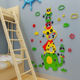 Cartoon Wall decoration colorful wall Stickers for Baby kids Nursery Playroom wall decal