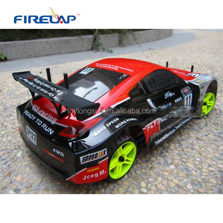 Nitro engine 4WD hobby grade rc car 94122 Two-speed 18 CXP Engine on rode car