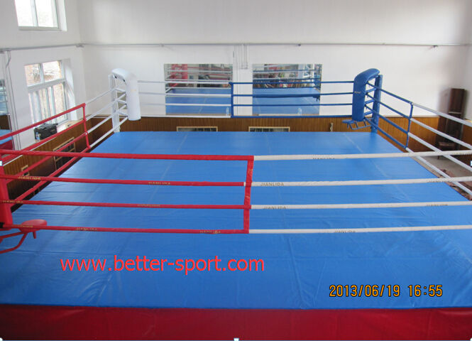 boxing ring canvas floor cover, canvas floor sheet for boxing ring
