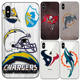 NFL Logo Phone Case for iPhone 8 UV Print Customize Back Cover Cases Super Thin Soft TPU Cover for iPhone 6 7 8 Plus Series Capa