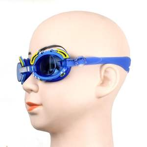 Cartoon Kids Waterproof Silicone Swimming Goggles Anti-fog Glasses Adjustable Protect Eyes Driving Glasses