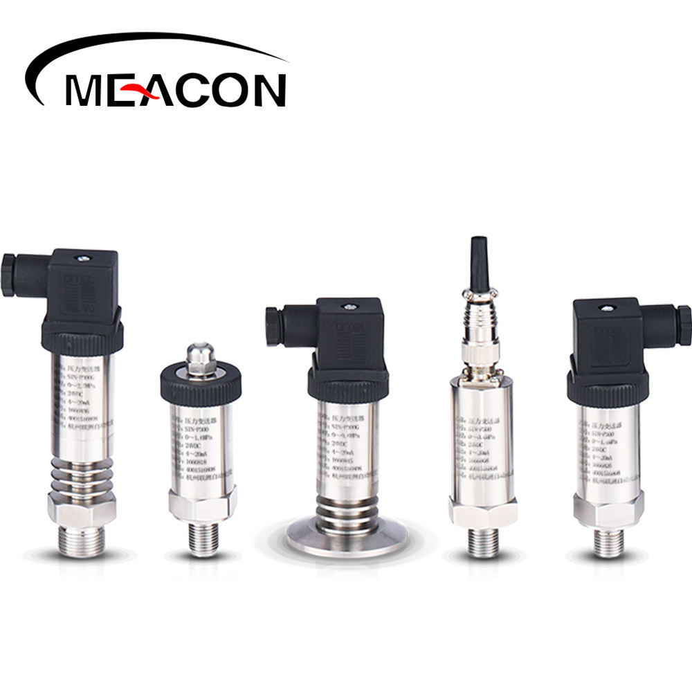 flange mounted high temperature melt Oil fuel water pressure transmitters for food circuit