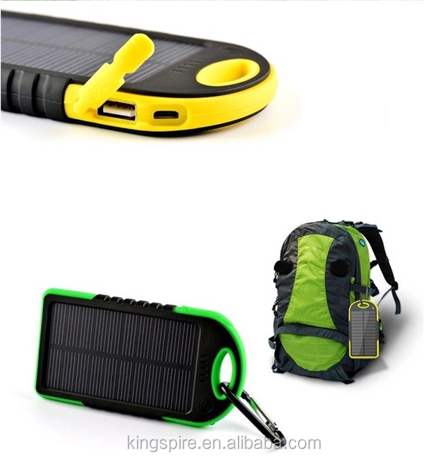New Hot 배터리 휴대용 방수 Solar Power bank Mobile Phone Charger