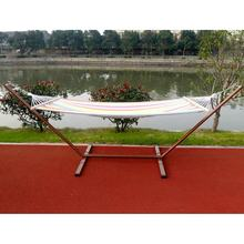 XY-DC001 Camping/Garden/Outdoor/Park/Bedroom Hammock Swing Hanging Chair with Iron Steel Stand Base single Seats