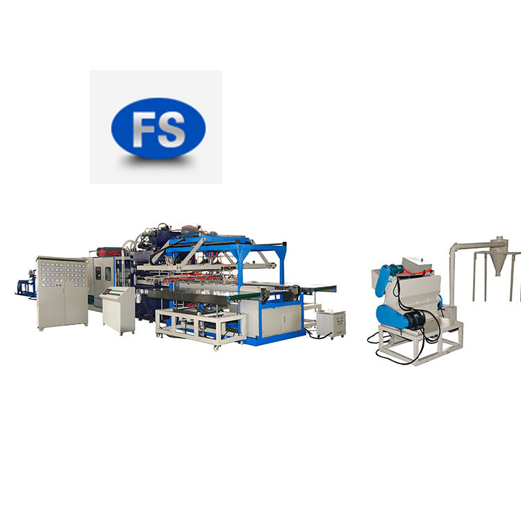 fushi professional supplier thermocol plate thermoforming making machine