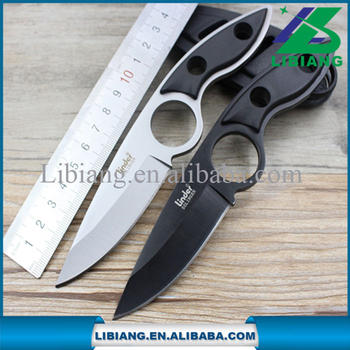 Portable Outdoor Straight Saber Knife